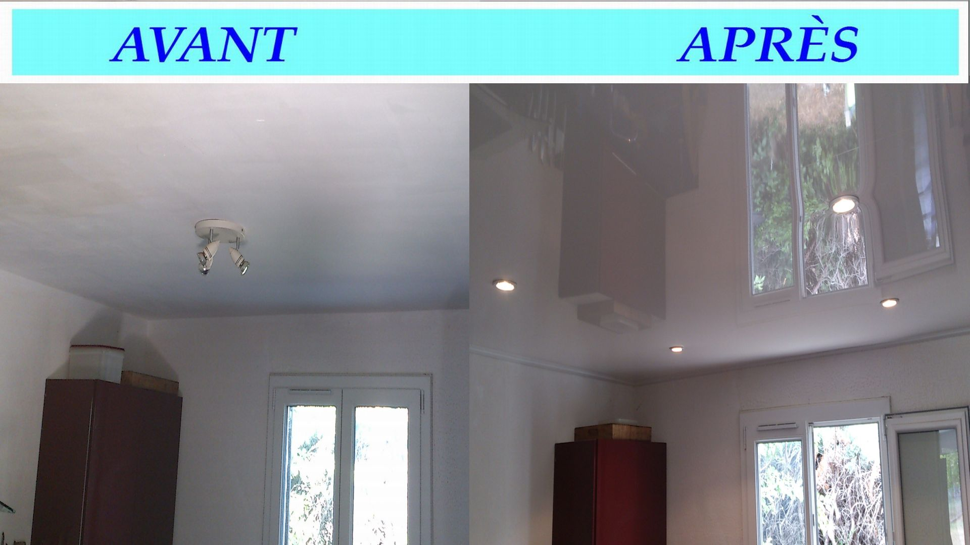 Votre sp cialiste en plafond tendu for Faux plafond tendu