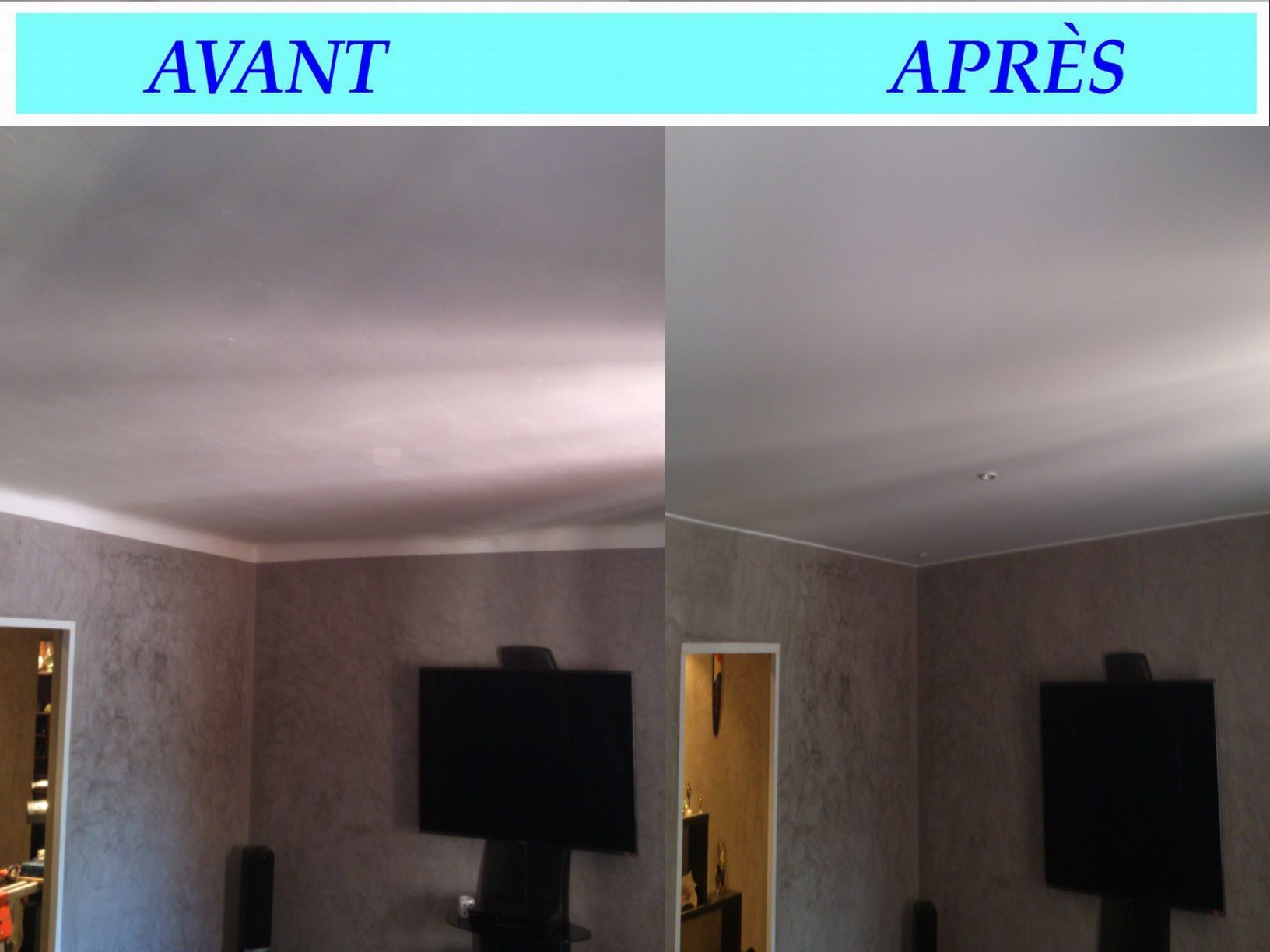 Prix m2 plafond tendu pos for Prix plafond tendu