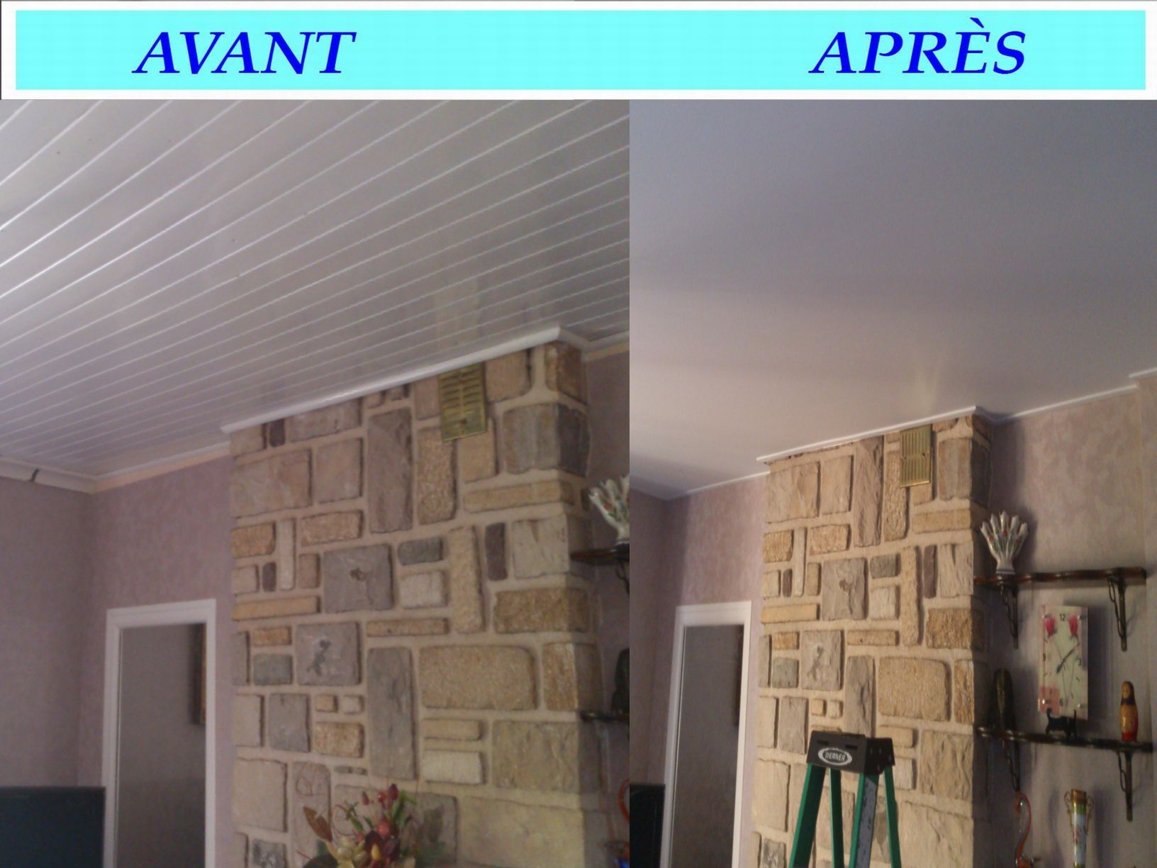 Devis votre sp cialiste en for Renovation plafond